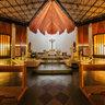 Transfiguration church of Las Condes Santiago