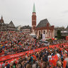 First Female Finisher Arrives at the Ironman Germany 2008