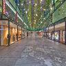Shopping Mall Fuenfhoefe Munich At Night