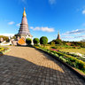 Phra Mahathat Napha Methanidon and Phra Mahathat Naphaphon Phumisiri - Doi Inthanon National Park - Thailand