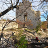 Ruins of Vitány castle