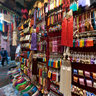 Handicraft shop in Marrakech medina