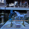 貴船神社の神馬, Votive Picture Of A Horse Kifune Shrine.