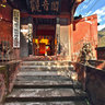 Luding County, Sichuan - Luding Bridge-8a(Guanyin Pavilion)