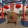 2012 Beijing Shijingshan Sculpture Park temple fair - Qianlong reign
