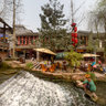 2012-03 Chengdu Ancient Town of -11Panorama
