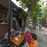 Chengdu Kuan Alley And Zhai Alley Door Panoramic 11