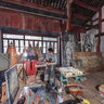 Sichuan Province - Anyue - Pilu hole - relics repair site-RH