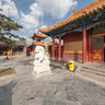 Huhhot summons the temple - Son of Heaven palace greatly 呼和浩特大召寺-天王殿