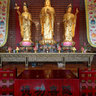 Emeishan - Buddha Temple - Main Hall - interior -2-2013