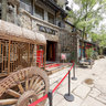 Chengdu - Ancient Town of -7 - wooden wheel carriage