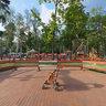 За Балашиха-ареной в парке