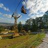 Teleférico do Ski Mountain Park em São Roque