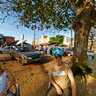 Família Surreal na Praia de Meaipe em Guarapari ES