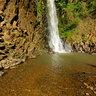 Canionismo na Cachoeira dos Quatis no Canoin da Cassorova em Brotas SP