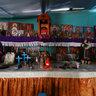 Voodoo Altar to Santa Marta La Dominadora