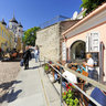 Tallin, Estonia, Street in Old Town