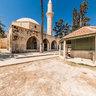Cyprus Larnaca Hala Sultan Tekke Garden Of Mosque Of Umm Haram Prophet Muhammad S Wet Nurse Larnaca Salt Lake