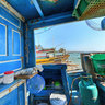 Inside Vietnamese boat