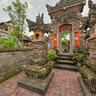 Entrance to private house Bali