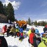 Duxer Bubble - Team Palatine - Catering Tent - 22nd Alpine Sport Week - Hochkrimml - Zillertal Arena - Austria