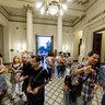 Inauguracion colectivo de arte VER en legislatura de santa fe 04 dic 2013