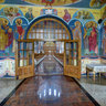 """Duminica Tuturor Sfintilor"" (All Saints Sunday) church - the narthex,Tautii de Sus"