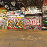 Leake St. London Graffiti aka 'The Banksy Tunnel'
