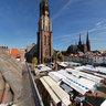 Delft Grote Markt on Marketday