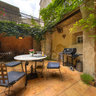 Courtyard of a house in Lagrasse