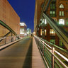 Hamburg Hafencity Speicherstadt by night