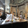 Easter mass in the White Monastery, Egypt