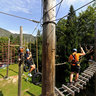 High Ropes Course, Bohinj, Slovenia