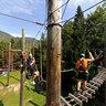 High Ropes Course, Bohinj, Slovenia