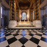 St Paul's Cathedral, London, UK - In front of the High Altar and choir stalls