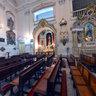 Nave central da Igreja Matriz de Nossa Senhora da Glória - Rio de Janeiro - Brasil