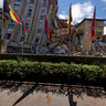 L'Aquila: Duca degli Abruzzi hotel after the April 6, 2009 Earthquake