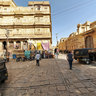 In the Streets of Jaisalmer
