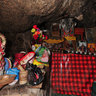 Inside a Monks home/cave  in Lhasa Tibet