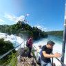 The Rhine Waterfall in Schaffhausen