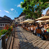 Petite France caffeteria in Strasbourg