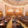 Meeting of the Romanian Parliament