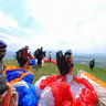 Strank pri iline - X-AIR paragliding