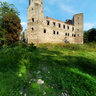 Ruins of Castle in Drzewica. Poland