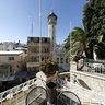 Jerusalem, garden of Austrian Hospice