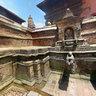 An antique stone tap at Bhaktapur Durbar Square