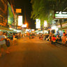 Khoa San Road, Bangkok, Thailand (night)