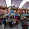 Mercado artesanal. Febrero del 2014