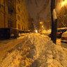 Prague under snow