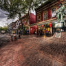 Historic Gastown Vancouver Bc Canada
